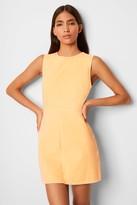 French Connenction Sekai Neon Denim Dress
