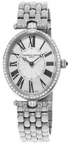 Frederique Constant Ladies' Classics Art Deco Stainless Diamond Watch