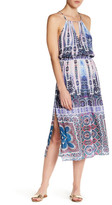 Nanette Lepore Paros Paisley Midi Cover Up Dress