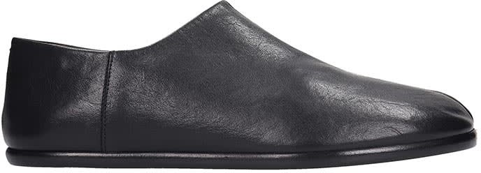 058921bb0bb Tabi Loafers In Black Leather