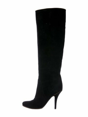 Givenchy Suede Boots Black