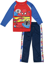 Children's Apparel Network Red Spider-Man Tee & Sweatpants - Boys
