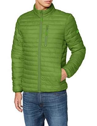 Esprit Men's 079ee2g003 Jacket, Black 001