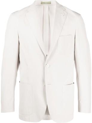 Corneliani straight single-breasted blazer