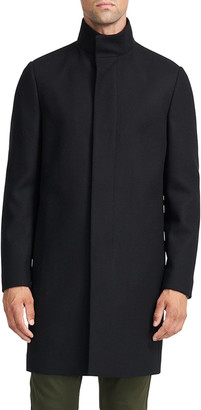 Theory Men's Belvin Traceable Melton Overcoat