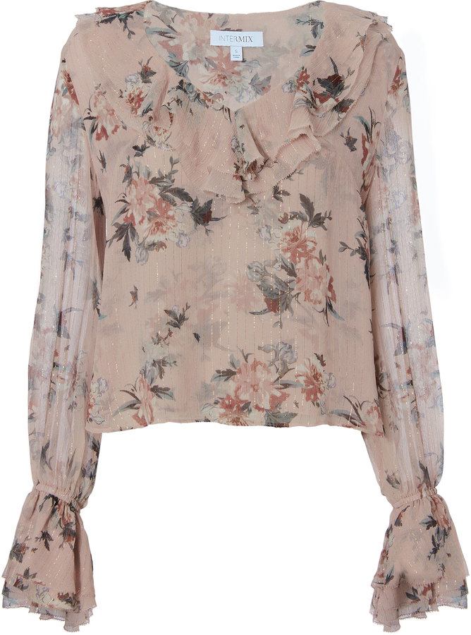 Exclusive for Intermix Thalia Floral Blouse