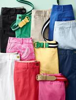 Talbots Stripe Cotton Web Belt