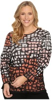 Nic+Zoe Plus Size Pattern Play Top