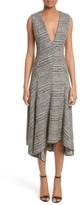 Jason Wu Women's Check Wool Fit & Flare Dress
