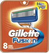 Gillette Fusion Manual Replacement Cartridges, 8 Count- Packaging May Vary