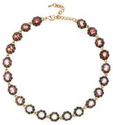 Sole Society Floral Cluster Statement Necklace