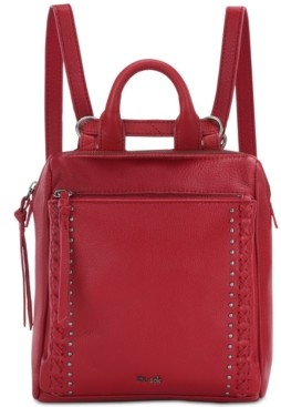 The Sak Loyola Convertible Small Leather Backpack