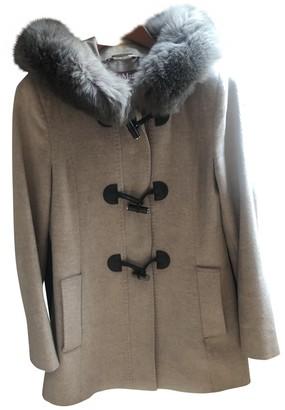 Max Mara Beige Wool Coat for Women
