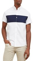 Kenneth Cole Reaction Men's Short Sleeve Color Block