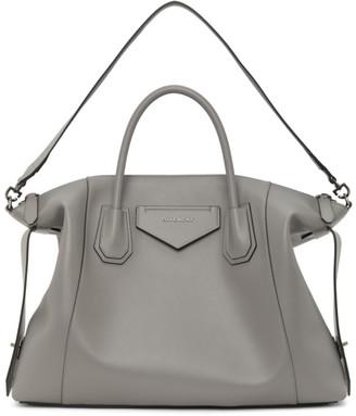 Givenchy Grey Large Soft Antigona Bag