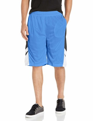 WT02 Men's Big & Tall Big and Tall Basketball Mesh Shorts