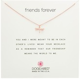 Dogeared Friends Forever, Dragonfly Necklace Necklace