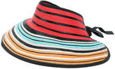 Missoni striped visor hat