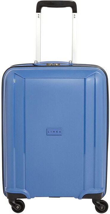 Linea Pro Zip Red 4 Wheel Medium Suitcase