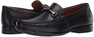 Clarks Claude Stride (Black Leather) Men's Shoes