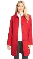 Fleurette Women's Wool Spread Collar Coat