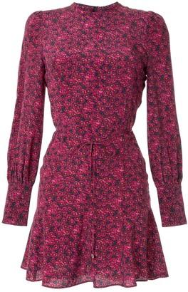 Rebecca Vallance Rosette L/S Mini dress