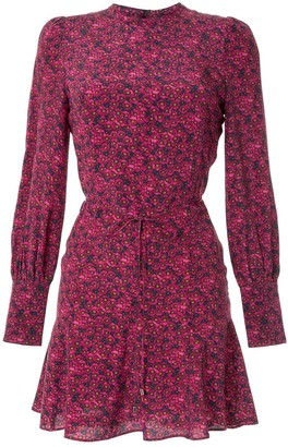 Rebecca Vallance Rosette L/S Mini dress