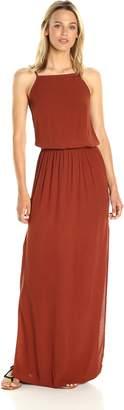 Monrow Women's Square Neck Maxi Dress