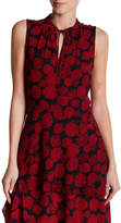 Joe Fresh Printed Peplum Tank