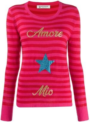 5 PROGRESS Amore Mio striped jumper