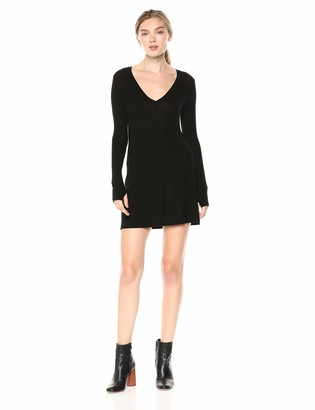 Only Hearts Women's Feather Weight Rib T Dress w/Glove SLV