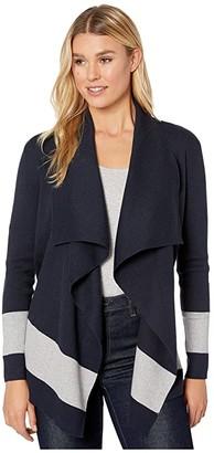 Lauren Ralph Lauren Stretch Cotton Modal Long Sleeve Open Cardigan