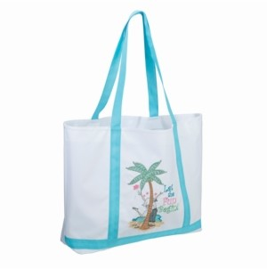 Lillian Rose Let the Fun Begin Beach Bag Tote
