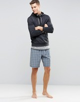 Esprit Lounge Shorts Woven Check In Regular Fit