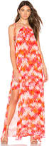 Show Me Your Mumu Rochester Maxi Dress in Orange. - size M (also in S,XS)