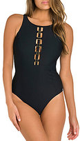 Miraclesuit Amoressa by Four Square Sonder High Neck Cut-Out One Piece