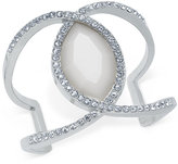 INC International Concepts Large Stone and Pavé Cuff Bracelet, Only at Macy's