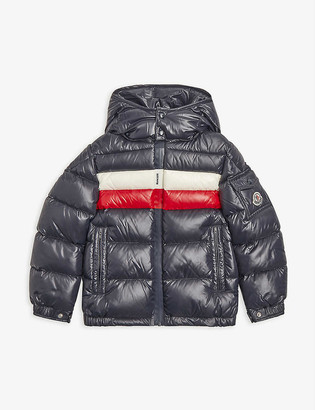 Moncler Dell hooded shell puffer jacket 4-14 years