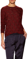 Thakoon Wool Crewneck Sweater