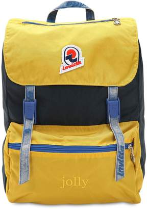 Invicta Jolly Backpack Nylon W/ Vintage Effect