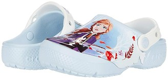 Crocs Fun Lab Disney Frozentm 2 Clog (Toddler/Little Kid) (Mineral Blue) Girl's Shoes