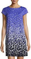 Julie Brown Allora Cap-Sleeve Jersey Dress