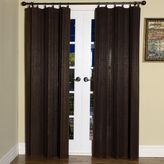 Bed Bath & Beyond Easy Glide 63-Inch Bamboo Ring Top Window Curtain Panel