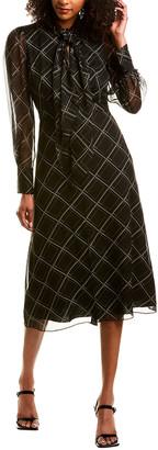 Equipment Calanne Silk Midi Dress