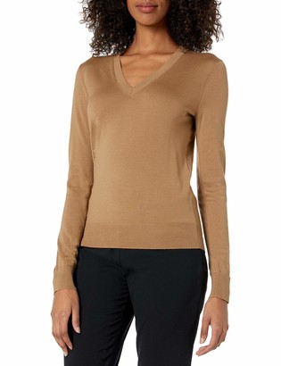 Theory Women's V-Neck Regal Wool Pullover