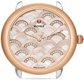 Michele Serein 16 Mosaic Diamond Dial Watch Head, 33mm