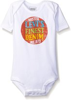 "Levi's Baby Boys' ""Finest Denim"" Bodysuit"