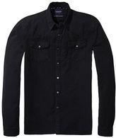 Scotch And Soda Denim Western Shirt