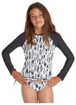 Billabong Girl's Fly Away Two-Piece Rashguard Swimsuit