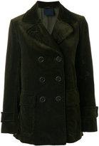 Aspesi double breasted corduroy coat